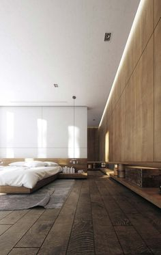 Absolutely brilliant choice of wood! The Tambore Villa is designed and visualized by Creato Arquitectos and is located in - Architecture and Home Decor - Bedroom - Bathroom - Kitchen And Living Room Interior Design Decorating Ideas - Interior Design Examples, Interior Design Inspiration, Decor Interior Design, Interior Decorating, Decorating Ideas, Design Ideas, Bedroom Inspiration, Color Inspiration, Interior Ideas