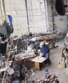 Alexander Calder Artist and Studio