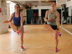TODAY's Jenna Wolfe kicks Natalie Morales's butt with a 10-minute workout.