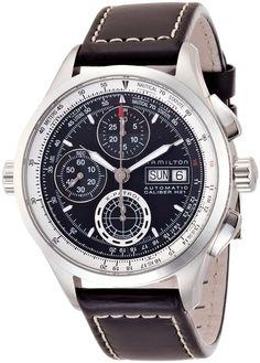 Men watches | Hamilton Khaki Aviation X-Patrol Auto Chrono Men's Automatic Watch H76556731 Review product