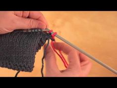 How to: Change Colors or balls while knitting.  Because for some reason, I ALWAYS forget how to do this properly.