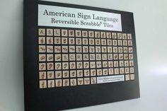 ASL ScrabbleTiles