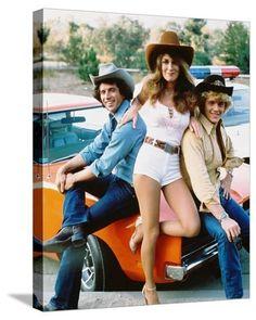 1980s Tv Shows, Old Tv Shows, Bo Duke, Tv Vintage, Dukes Of Hazard, Mejores Series Tv, John Schneider, Catherine Bach, Cinema Tv