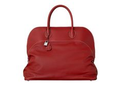 Bolide Hermes bag in gold taurillon clemence calfskin leather ...