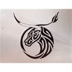Tribal Taurus Tattoo Designs  Zodiac Symbol Tattoos Picture #14787 3648x2736