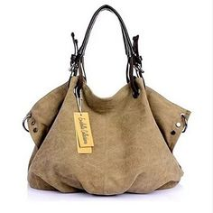 Buy JOURNEY COLLECTION Canvas Handbag by Vista Shops on OpenSky  $48