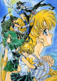 Naoko Takeuchi, Toei Animation, Bishoujo Senshi Sailor Moon, Princess Serenity, Sailor Pluto