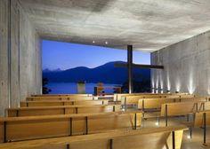 Galerie k příspěvku: Kaple v horském svahu | Architektura a design | ADG