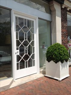Bill Ingram Architect . Interiors . Gardens New office door in Mountain Brook, AL
