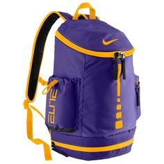 Nike Hoops Elite Team Backpack - Basketball - Accessories - Court  Purple University Gold 9f720560fd