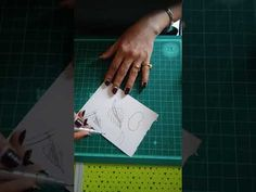 Outlining with Pen. Making an outline can be tricky and very simple too. Explanations by Amrita Tiwa - YouTube Art School, Outline, Playing Cards, Mindfulness, Canning, Simple, Youtube, How To Make, Instagram