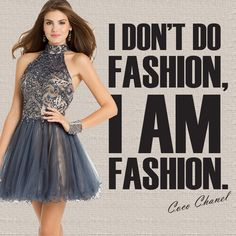 Camille La Vie short homecoming dresses that exude all things fashion. Like Coco Chanel says, I don't do fashion i am fashion