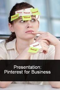 Pinterest Presentation on Prezi and business at http://www.internetmarketingtrainingcenter.net