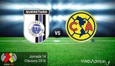 Querétaro vs América, Jornada 14 del Clausura 2016 ¡En vivo por internet! - https://webadictos.com/2016/04/15/queretaro-vs-america-j14-clausura-2016/?utm_source=PN&utm_medium=Pinterest&utm_campaign=PN%2Bposts