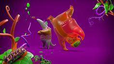 3D for Nickelodeon Meus Prêmios Nick 2014 by Le Cube