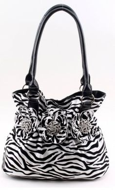 How cool are these zebra print handbags!!! You'll find a huge selection of zebra print handbags here to choose from. Hipster bags, hobo handbags,...