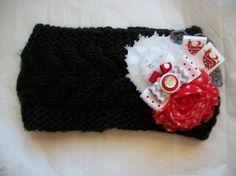 Women's Crochet Washington State University WSU by BadCatCraft