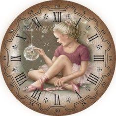 Поиск новостей по запросу #картинки_для_декупажа Decoupage Vintage, Decoupage Paper, Vintage Crafts, Shabby Chic Cafe, Shabby Chic Clock, Clock Face Printable, Page Decoration, Diy Clock, Clock Ideas