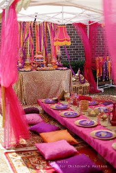 Convites e Decoração _ Festa Árabe