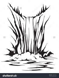 waterfall sketch에 대한 이미지 검색결과
