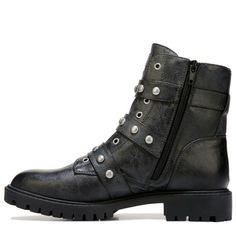 b6b899c2edd7e G BY Guess Women s Prez Studded Combat Boots (Black) Studded Combat Boots