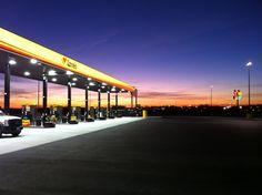 Love's Travel Stop, Davenport, Iowa. Opened December 2012.