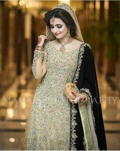 ☆●•°B.H°•●☆ Asian Wedding Dress Pakistani, Pakistani Dresses, Indian Bridal, Pakistan Bridal, Walima Dress, Bridal Makeover, Bridal Dress Design, Bridal Photoshoot, Stylish Dress Designs