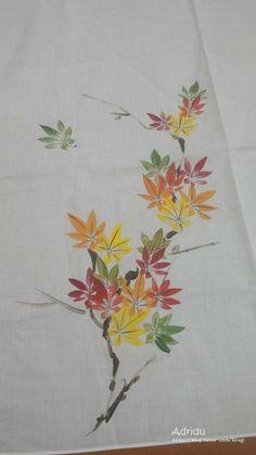 천아트로 그린 맥문동 : 네이버 블로그 Embroidery Flowers Pattern, Silk Ribbon Embroidery, Flower Patterns, Hand Embroidery, Embroidery Designs, Dress Painting, Fabric Painting, Fabric Art, Fabric Paint Shirt