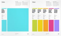 Brand Guidelines Templates – Examples & Tips For Consistent Branding is part of Brand guid - corporate style Brand Guidelines Design, Brand Guidelines Template, Web Design, Book Design, Graphic Design, Helmut Schmid, Brand Guidlines, Brand Manual, Poster Design