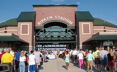 Ripken Stadium (Home of the Aberdeen Ironbirds) in Aberdeen, MD Aberdeen Maryland, Im Coming Home, Tell The World, Baltimore Orioles, Bel Air, Terra, East Coast, Google Images, Places Ive Been