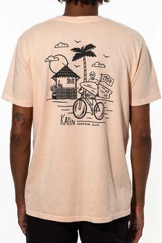 New Arrivals - Katin USA Organic Cotton, Usa, Tees, Beach, Mens Tops, T Shirt, Artists, Style, Design