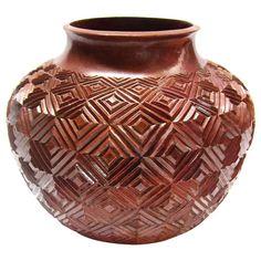 Copper Vessel by Maximo Velasquez Correa, Santa Clara del Cobre, Michoacan, Mexico
