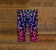 Rainbow Cheetah Baby Leggings