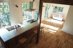空間社 フジヤマスタイル ステンレス天板 Decor, Corner Desk, Standing Desk, Desk, Furniture, Kitchen Counter, House, Kitchen, Home Decor