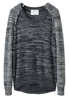 Phillip Lim cutout pullover. love casual pieces with cutouts! So unexpected// effortless edge