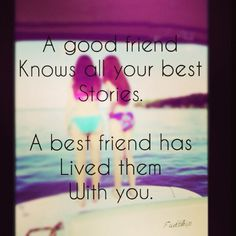 Best fiends, quotes, sweet, friendship, lake