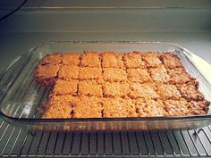just me cooking: Peanut-Butter Bars