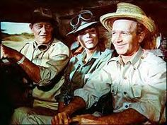 "Hitari!  ""Tell me about the rocket again, Sean..."" (starring John Wayne & Red Buttons)"