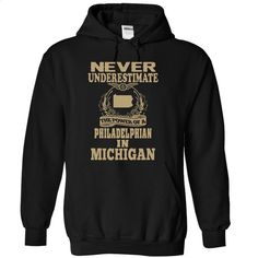 Never Underestimate The Power Of Philadelphian In Michi T Shirt, Hoodie, Sweatshirts - tshirt design #hoodie #fashion