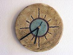 Ceramic clock.