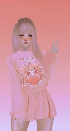 Cartoon Girl Images, Cute Cartoon Girl, Aesthetic Girl, Aesthetic Anime, Divas, Virtual Girl, Japon Illustration, Avakin Life, Anime Art Girl