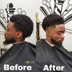 Hawk The Barber Prodigy sur Instagram : Before and After Monday with the #hawksauce