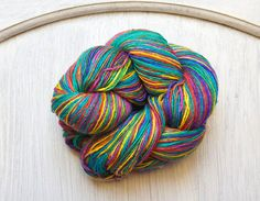 Silk Thread in Over the Rainbow Light Weight Rainbow by PenandHook