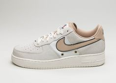 Nike Air Force 1 '07 LV8 (Sail / Linen – Sail – Team Orange) #lpu #sneaker #dailydrops #hypesrus