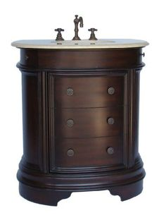 Best 36 Solid Wood Cherry Vanity Cabinet By Koville Http 400 x 300