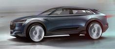 Audi previews e-tron quattro concept designed with 'Aerosthetics' form language