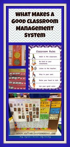 What Makes a Good Classroom Management System by Autism Classroom News: http://www.autismclassroomnews.com