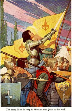 """Daughter of the King, """"Born For Such A Time as This"""" - Esther ┆ St Joan of Arc ┆ Ste Jeanne d Arc ┆ More christians pins in my boards Joan D Arc, Saint Joan Of Arc, St Joan, Jeanne D'arc, Illustration Arte, Illustrations, Medieval Art, Medieval Fantasy, Catholic Art"""