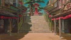 Spirited Away (2001) - Animation Screencaps