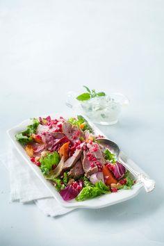 Mausteinen karitsan paahtopaistisalaatti | K-ruoka #itsenäisyyspäivä #juhlapöytään